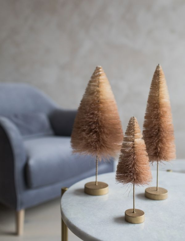 Peach Ombre Christmas Tree - Three Sizes Available