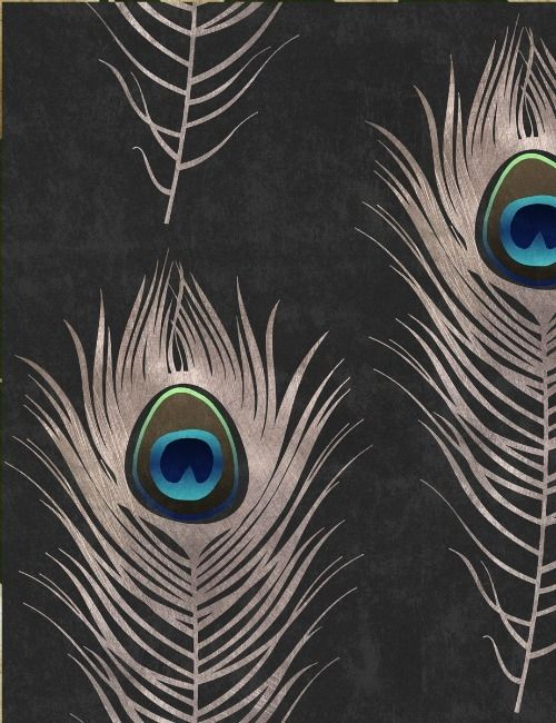 Mind The Gap Wallpaper Collection - Peacock