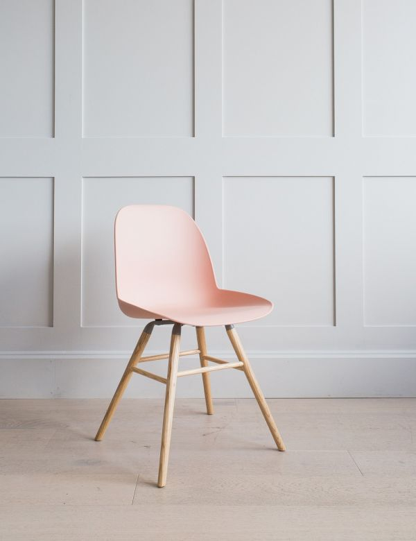 Pink Albert Kuip Chair by Zuiver