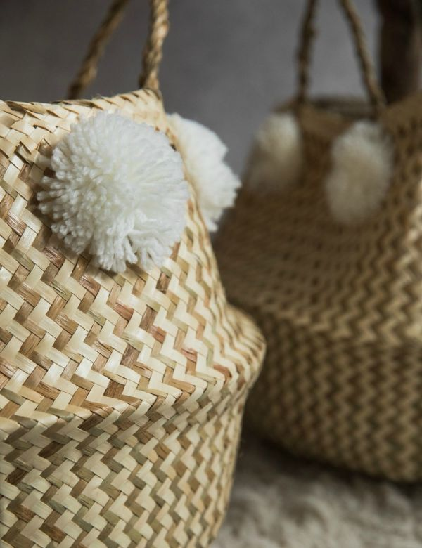 Pom Pom Basket - Medium or Large
