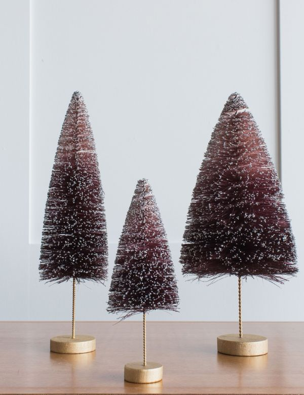 Purple Glitter Christmas Tree - Three Sizes Available