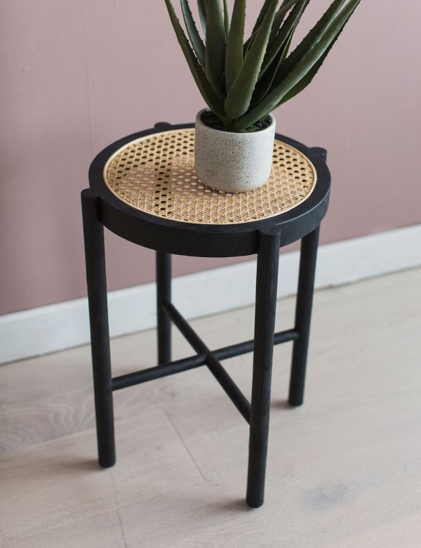 Retro Webbing Stool - Two Colours Available