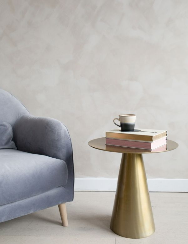 Minimal Brass Side Table
