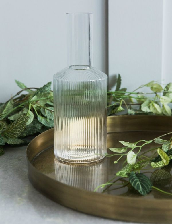 Ferm Living Ripple Glass Carafe