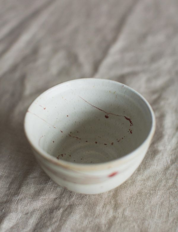 Small Brushed Effect Bowl