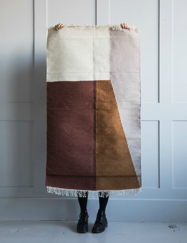 Ferm Living Small Kelim Rug - Borders