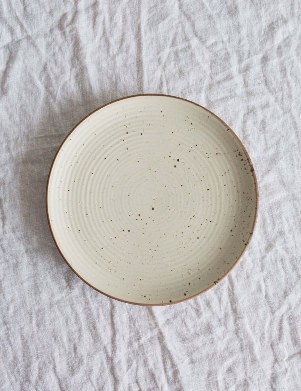Speckled Ceramic Dinner Plate