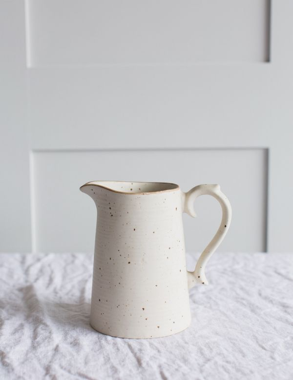 Speckled Ceramic Jug