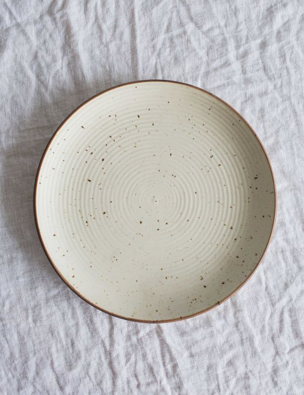 Speckled Ceramic Large Dinner Plate