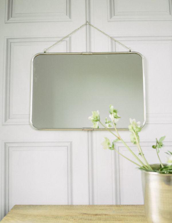Antique Silver Wall Mirror image