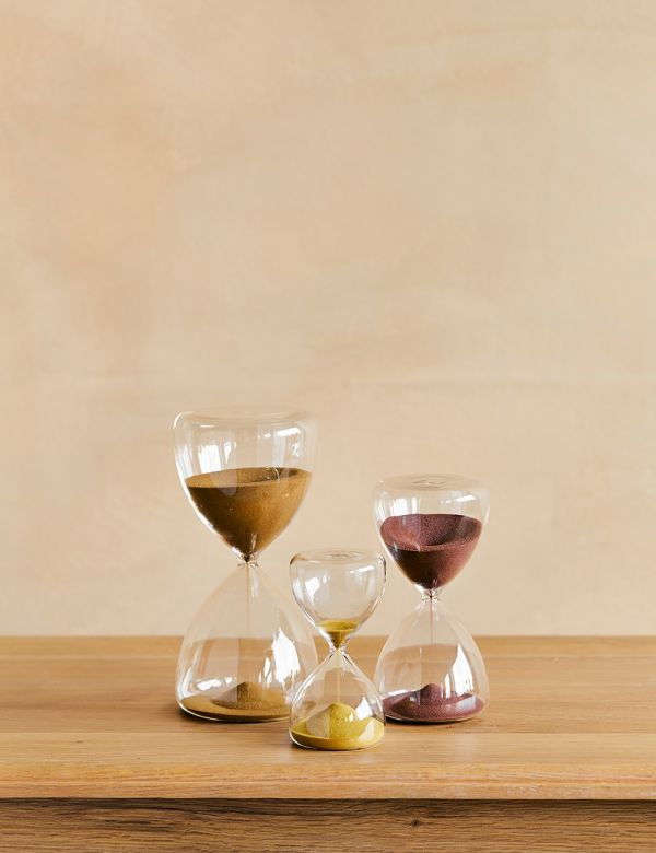 Sunset Colours Hourglass - Three Colour Available