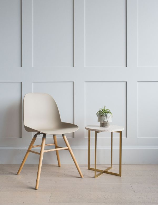 Taupe Albert Kuip Chair by Zuiver