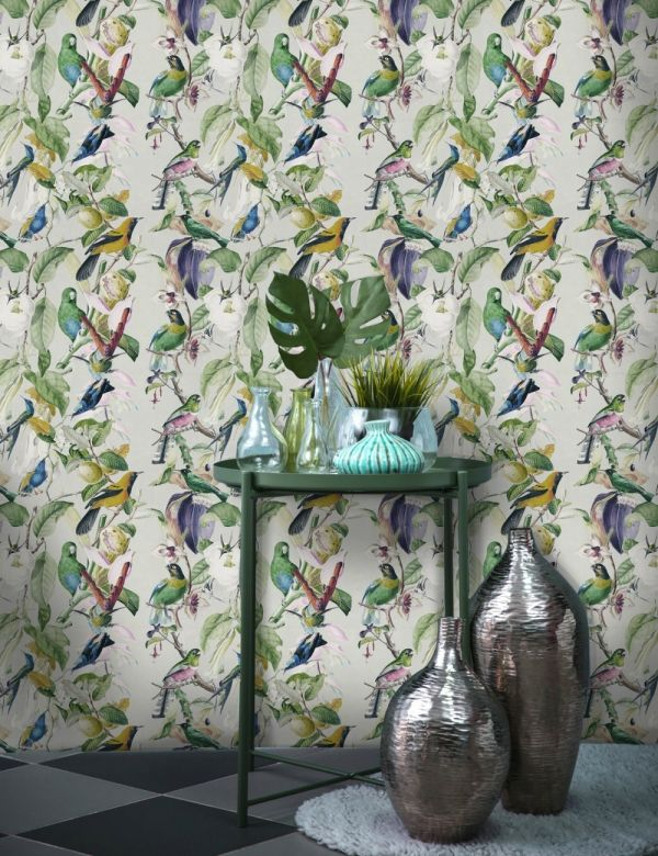 Mind The Gap Wallpaper Collection - Tropical Birds