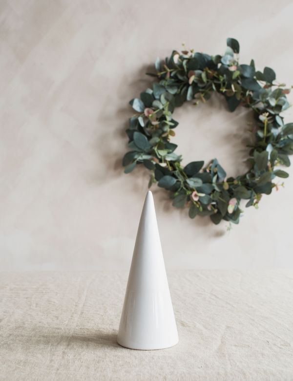 White Ceramic Tree