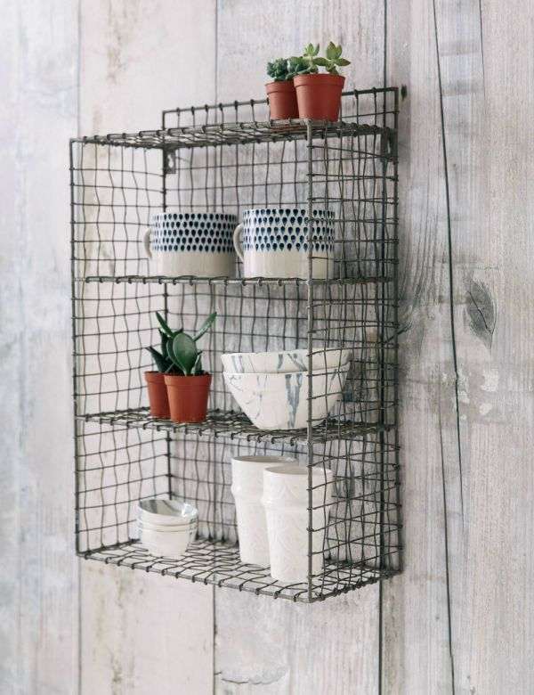 Wire Locker Room Shelf