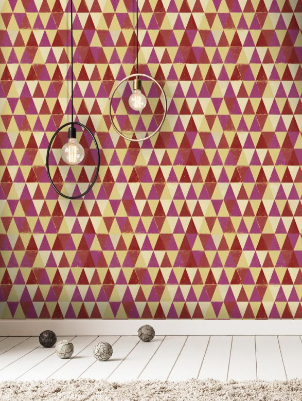 Mind The Gap Wallpaper Collection - Circus Pattern