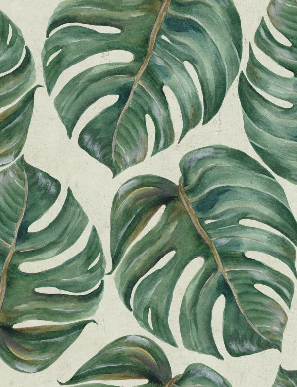 Mind The Gap Wallpaper Collection - Tropical Leaf