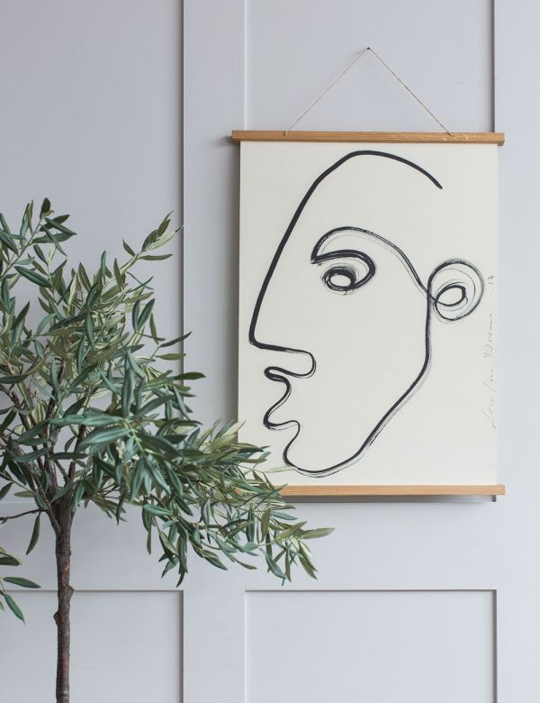 'These Days' Abstract Portrait Print by LouLou Avenue