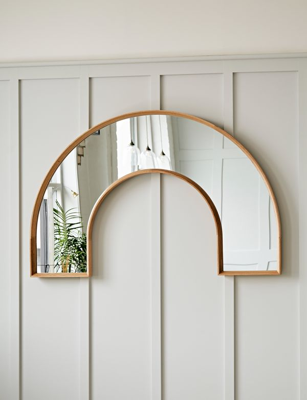 PREORDER Arch Oak Framed Mirror