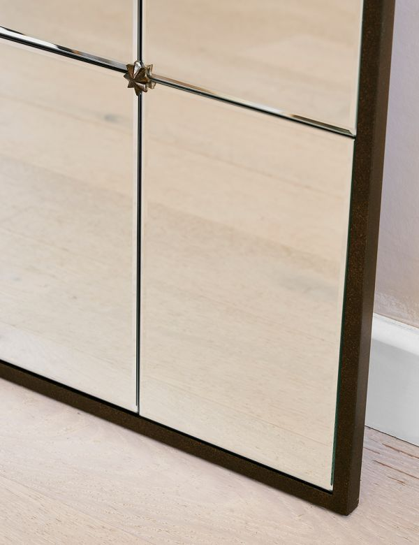 Arch Paned Mirror