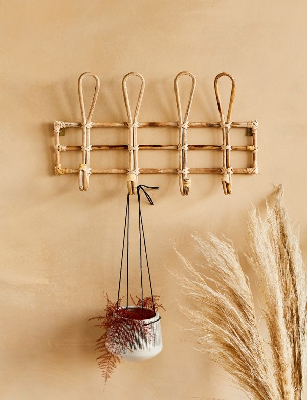 Bamboo Coat Hook