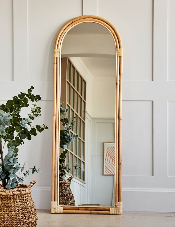 Bamboo Large Arch Mirror