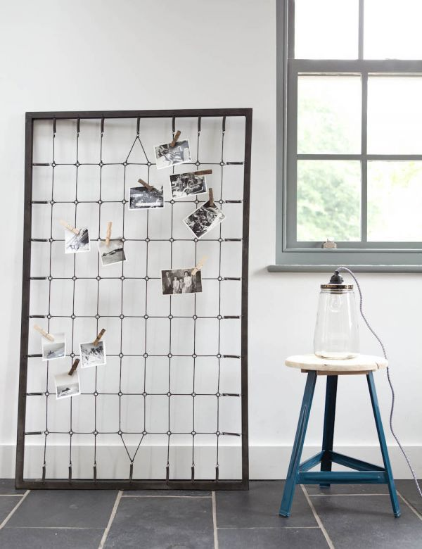 Industrial bed springs memo board
