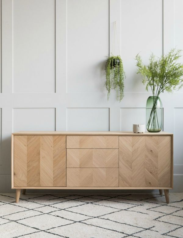 Bergen Solid Oak Sideboard