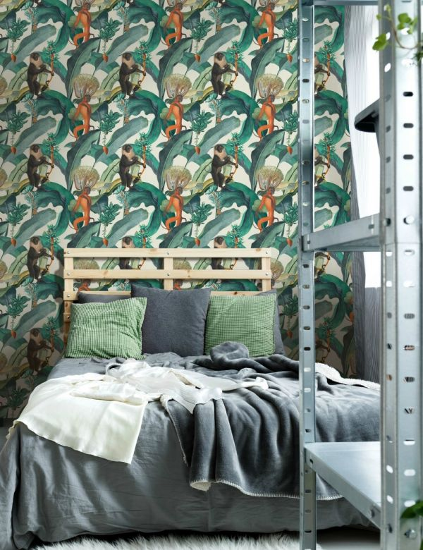 Mind The Gap Wallpaper Collection - Bermuda Light