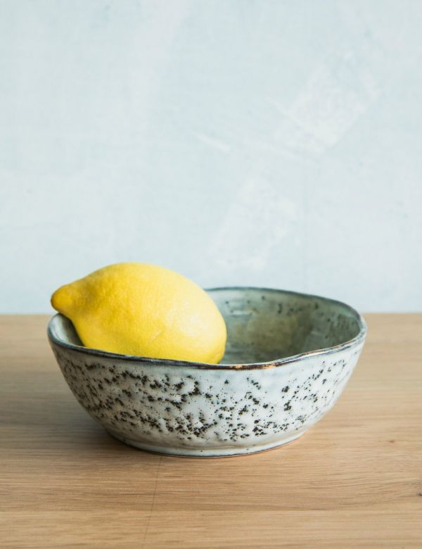 Blue Dappled Bowl