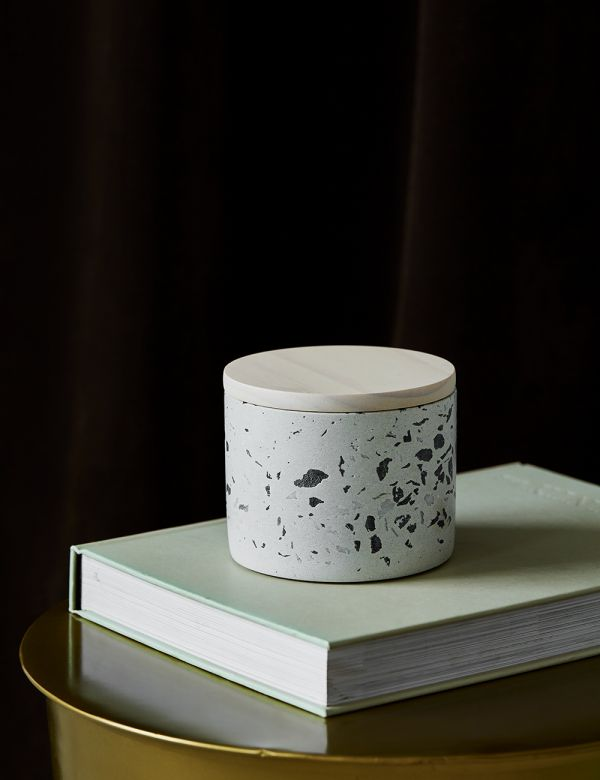 Coconut Flower Terrazzo Candle