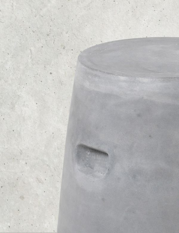 Oslo Charcoal Outdoor Stool