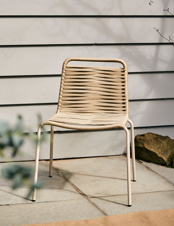 Copenhagen Rope Outdoor Chair - without arms