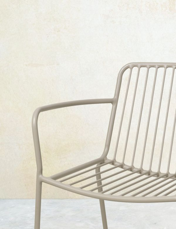 Copenhagen Taupe Outdoor Chair - With or Without Arms