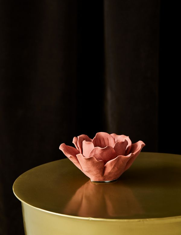 Coral Petal Tealight Holder