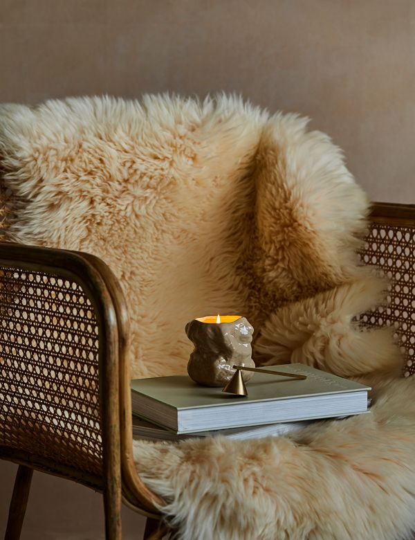 Cream Long Haired Sheepskin