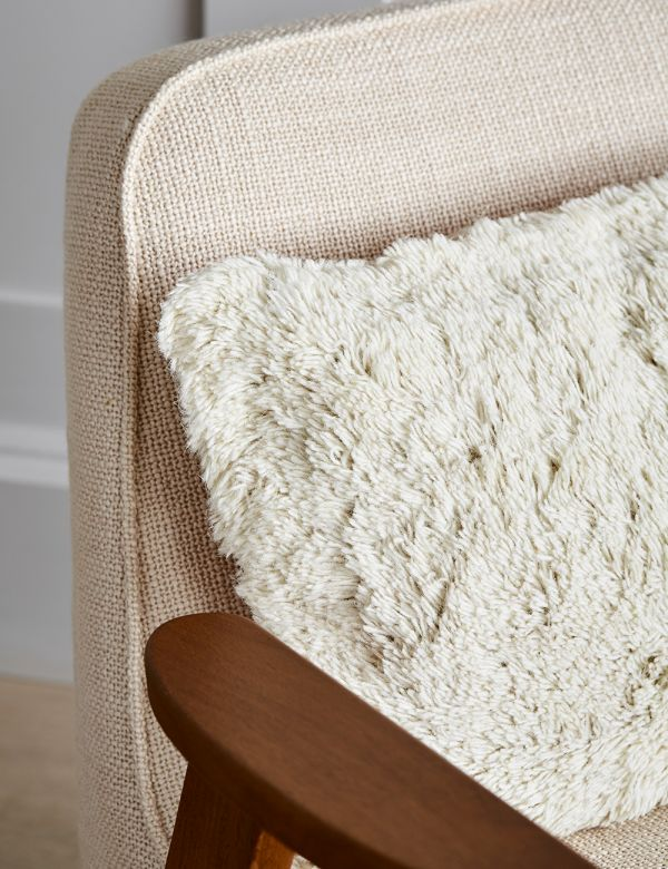 Cream Wool Cushion
