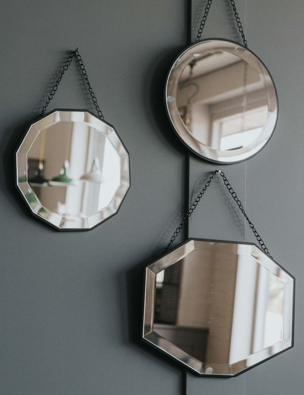 Dainty Mirrors - set of 3