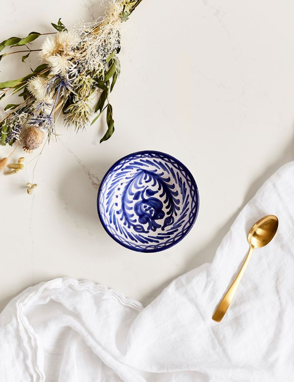 Decorative Bowl - Azul