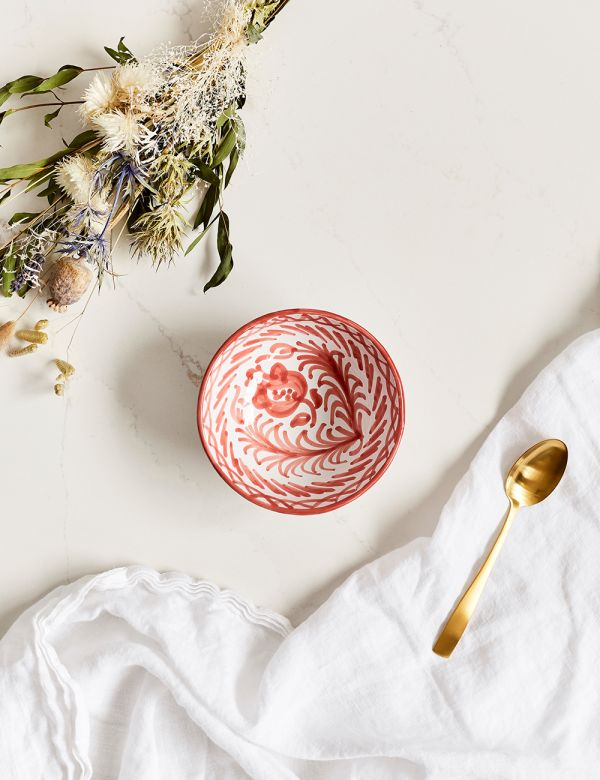 Decorative Bowl - Coral