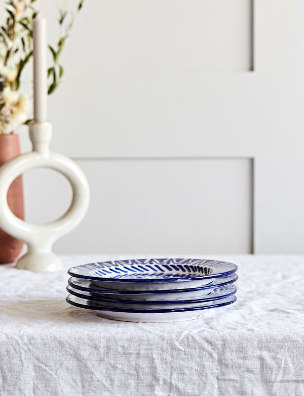 Decorative Dinner Plate - Azul