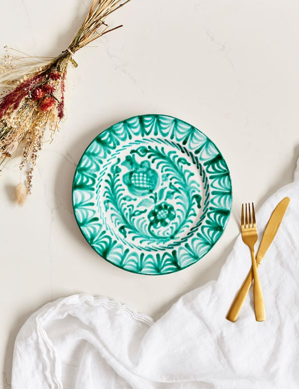 Decorative Dinner Plate - Verde