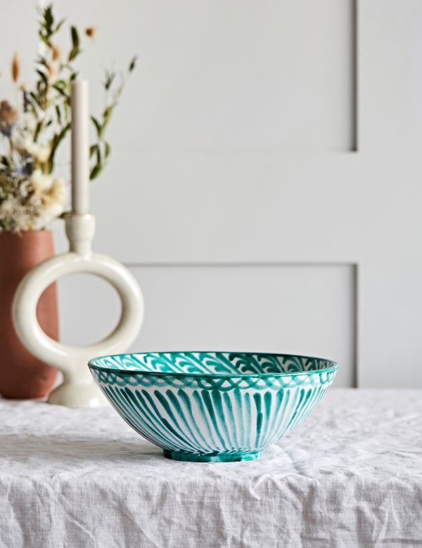 Decorative Salad Bowl - Verde