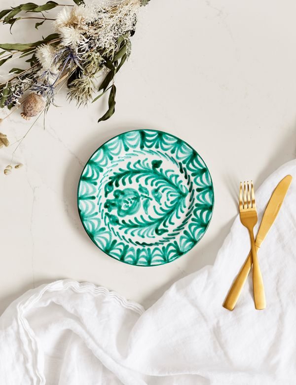 Decorative Side Plate - Verde