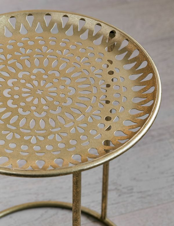Delilah Metal Side Table