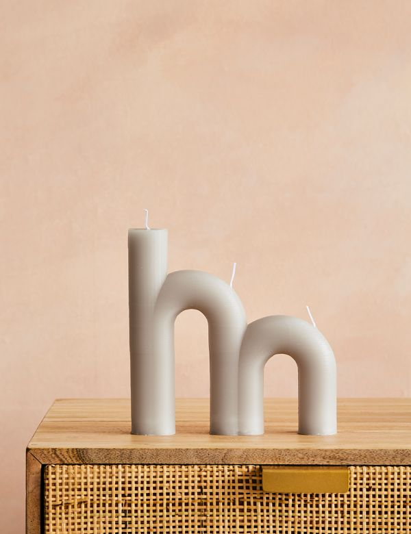 Double Arch Candle - Rainy Day