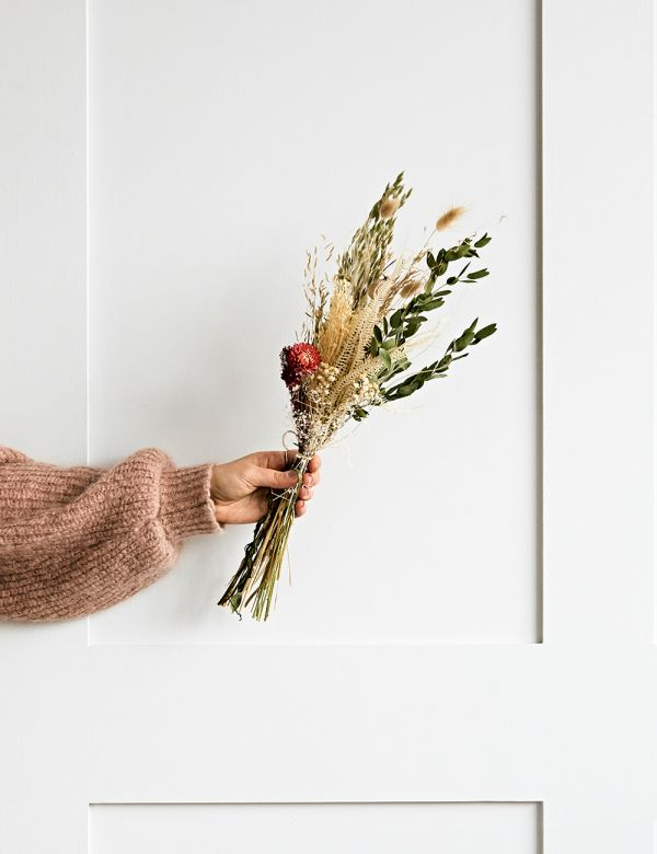 Dried Flower Bouquet - Winter