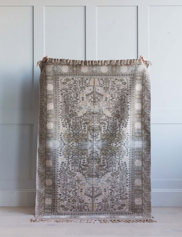Dusty Overdyed Rug