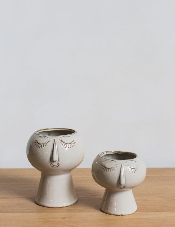 Edina & Patsy Face Vases - Two Sizes Available