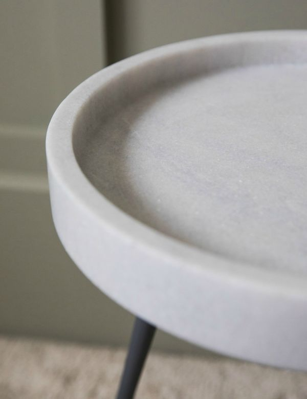 Elsa Side Table - White by Zuiver